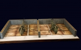 Diorama Bausatz, 2 Flugzeug Splitterschutzboxen Vietnam, 1:72