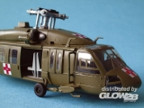 UH-60A Blackhawk Medevac in 1:72