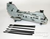 CH-46E Marines Sea knight HMM-163 154822 in 1:72