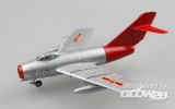 Mig-15 UTI Chinese Air Force Red fox in 1:72