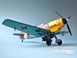 BF109 E-7/TROP 1/JG27 in 1:72