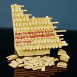 4.000 Keramik Biberschwanz Dachziegel, ziegelrot 1:35/32