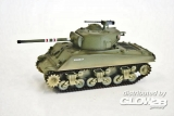 M4 A3 (76) Middle Tank 4th Tank Bat., 1st Armored Div. in 1:72