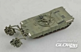 M1 Panther w/mine Roller in 1:72