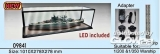 Acryl- Vitrine 1.010 mm x 278 mm x 278 mm LED include