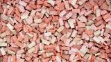 12.000 Keramik Ziegelsteine ziegelrot 1:87 von Juweela