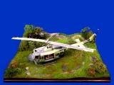 Diorama Grundplatte 43/7, Hubschrauber- Landeplatz, 1:32