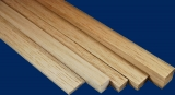 10 Balsa Vierkantleisten, 3 x 7 mm, 1.000 mm